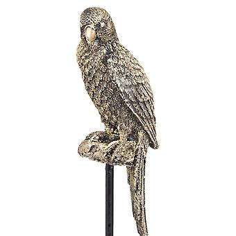 Hill Interiors Antique Style Perching Budgie