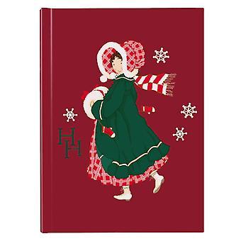 Holly Hobbie Christmas Dress Hardback Journal
