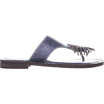 Patricia Nash Womens Franca Leather Split Toe Casual Slide Sandals