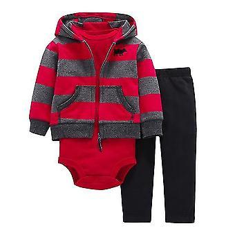 Kurtka dla niemowląt, body i spodnie strój, Design 13