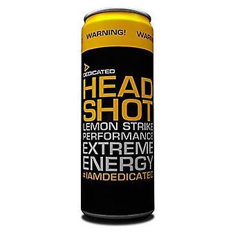 Dedicated Headshot Energy Drink 12 x 355 ml