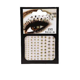 Eyeliner Eyeshadow Face Rhinestone Sticker