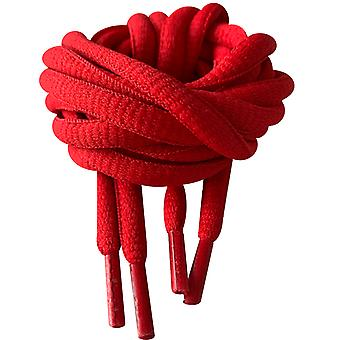 Red Oval Sports Trainer Shoelaces