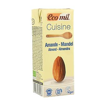 Organic almond cream for cooking 200 ml