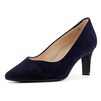 Peter Kaiser Maike Court Shoes In Notte Suede