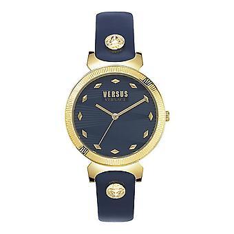 Versus by Versace Women's Watch Wristwatch Marion VSPEO0219 Leather