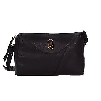 Bag Donna Liu-jo Shoulder Strap Gratium Crossbody S Ecopelle Black Bs21lj31 Aa1046