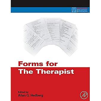 Formularer til terapeuten