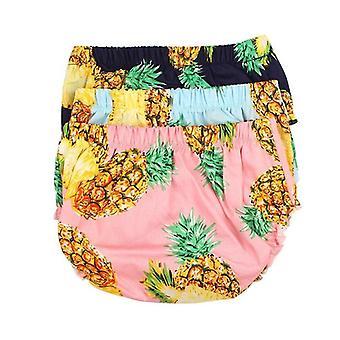 Copertina pannolino per bambini con stampa ananas