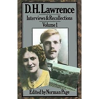 D. H. Lawrence by Professor Norman Page - 9781349048229 Book