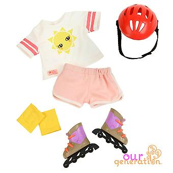 Our generation roll with it regular outfit
