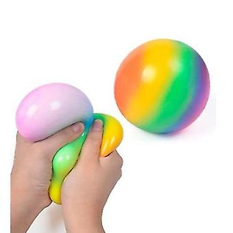 1pcs Pressure Ball, Colorful Creative Decompression Toys, Strengthen Hands, Relax Gadgets