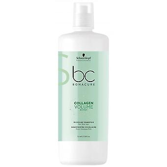 Schwarzkopf Professional Bonacure Collagen Volume Boost Champú micelar 1000 ml