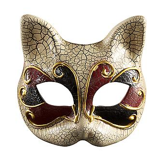 Halloween Children 's Mask Masquerade Party Half Face Kitten Masker Venetië