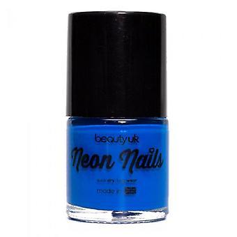 Beauty UK Neon Nail Polish - Blue