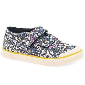 Start-Rite Meadow Girls Infant Canvas Shoes