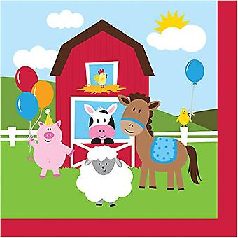 Bn 12/18Ct 2P Farmhouse Fun Napkin