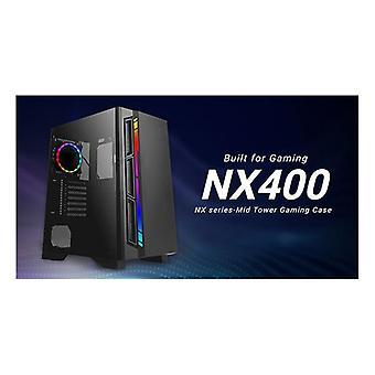 Antec Nx400 Atx Tempered Glass Argb Led Control