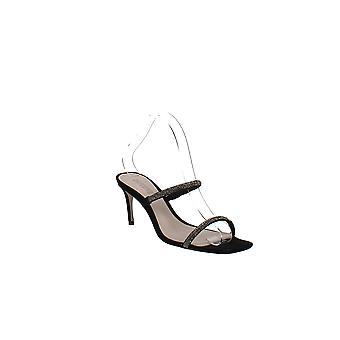 Schutz   Taleen Crystal Mid-Heel Sandals
