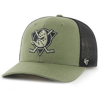 47 Brand Low Profile Ripstop Cap - GRID Anaheim Ducks