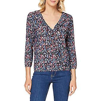 Springfield 5.g.Cam Bambula Print-c/17 T-Shirt, Blue (Light_Blue 17), 40 (One Size: Small) Woman