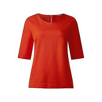 Street One 311584 T-Shirt, Burnt Orange, 44 Woman