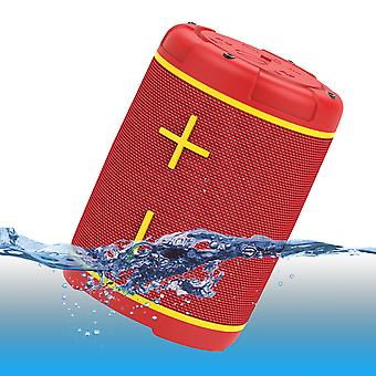Hopestar P1 IPX7 Submersible Wireless Speaker Red