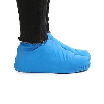 Capa de sapatos de chuva impermeáveis à prova de látex de borracha