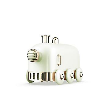 300ml Ultrasonic Humidifier Retro Mini Train USB  With Color LED Light Humidifiers(green)