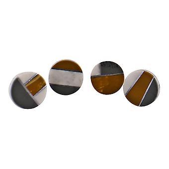 Sarja 4 pyöreää abstraktia design-nastan ovenkahvaa