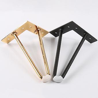 1 Piece Iron Table Legs 10cm-40cm Chair Sofa Bed Hairpin Desk Leg Metal Furniture Foot