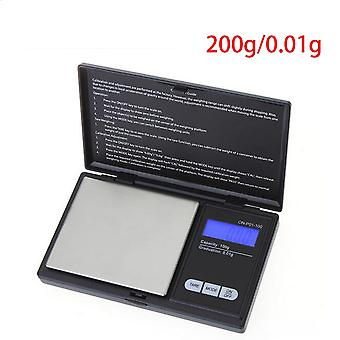 Lcd Digital Precision Pocket Jewelry Gold Gram Balance Weight Scale