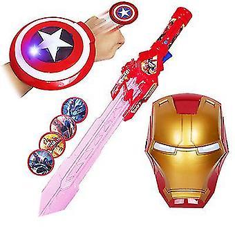 Laser Sword 4 Mask Music Electric blinkende sværd våben (Stlye2)