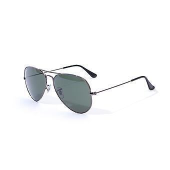 Ray-Ban Round Double Bridge Sunglasses - Black