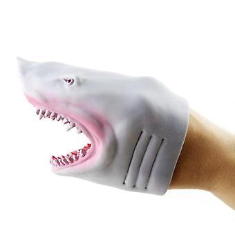 Handpuppe Hai Rollenspiel Spielzeugpuppe (Grau)