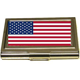 Korthållare - USA flagga