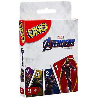 Das Avengers Entertainment Board Uno Spiele Spaß Poker Spielkarten Geschenk box Uno Kartenspiel Spielzeug Geschenk