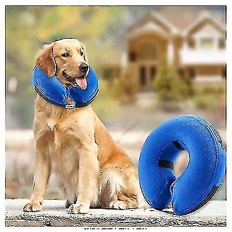 Felfújható nyakörv kutyáknak és macskáknak-puha kisállat helyreállítási nyakörv nem blokkolja a látást(m)