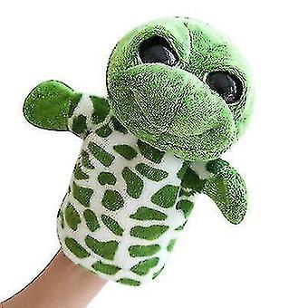 Söpö eläinten pehmon käsinukke liikuteltavissa käsivarsilla - käsinukkeja kaikenikäisille lapsille (S4)