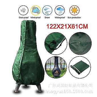 Outdoor Stove Protective Cover Green(Green)