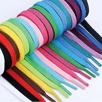 Homemiyn Flat Athletic Shoelaces, 1 Pair Pack, Multiple Sizes And Colors For All Sneaker Types Shoelaces Replacements