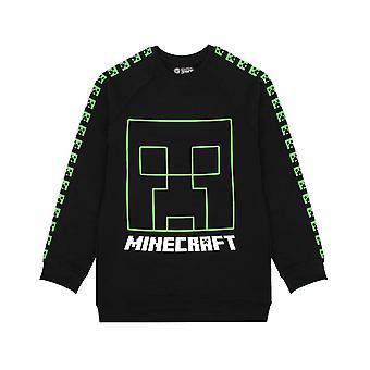 Minecraft Boys Creeper Ansiktströja