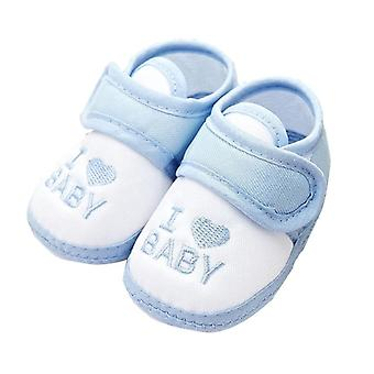 القطن غير زلة الطفل طفل على شكل قلب أحذية التصميم
