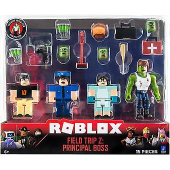 Roblox Field Trip Z: Principal Boss Four Figure Pack