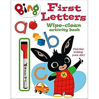 First Letters Wipe-clean activity book (Bing) (Bing)