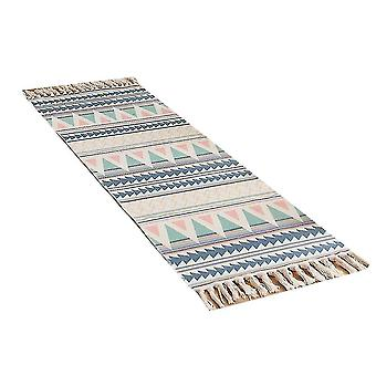 Rugs homemiyn cotton and linen floor mats with tassels high-quality rugs for living room and bedroom