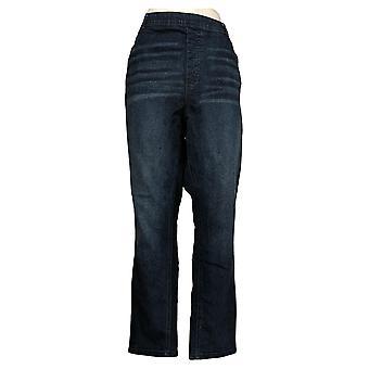 DG2 by Diane Gilman Womens Jeans Classic Stretch 5Pocket Basic Blue 535579