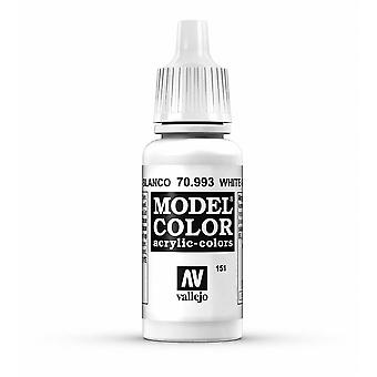 Vallejo Model Color 17ml Acrylic Paint - 993 White Grey