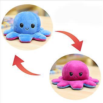 Flip Plush Octopus Toy Doll Double-sided Flip Gift Children's Toys
