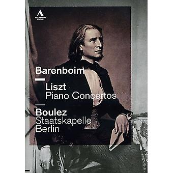 Liszt/Wagner - import USA Piano Concertos [DVD]